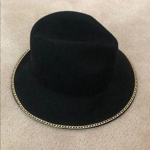 Zara Chain Rimmed Hat